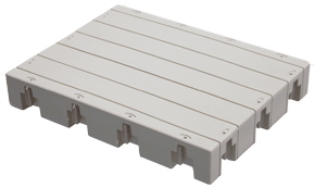 45 x 60 Floating Dock Section - 1000 Series