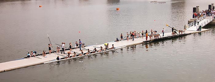 Event Rowing Dock