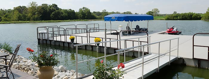 Floating Docks Components | Dock System | Marine Accessorie
