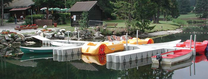Floating Dock planter