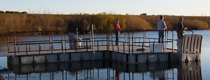 Park Fishing and wildlife observation dock