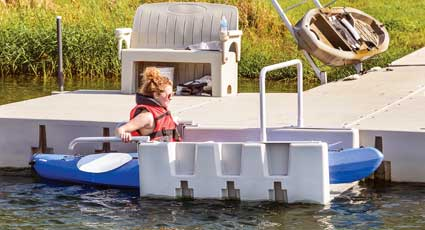 Floating Dock YAKport Kayak Launch