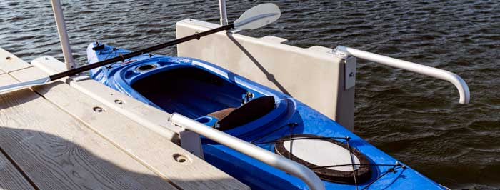 Add accessories to your kayak launch